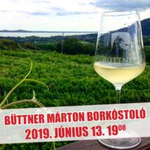 Büttner Márton borkóstoló (Badacsony)