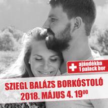 Sziegl Balázs borkóstoló jegy + ajándék palack bor