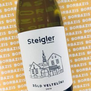 Steigler Pince Prémium Zöld Veltelíni 2019