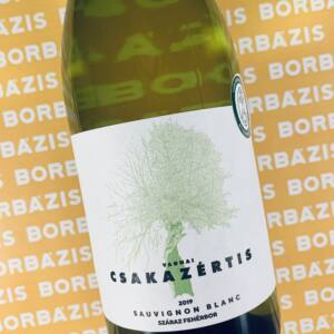 Csakazértis Sauvignon Blanc 2019