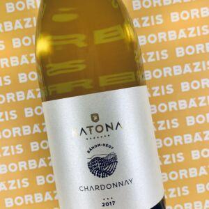 Katona Borház Chardonnay Bánom-hegy 2017