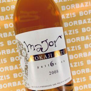 """Majoros Birtok """"Major"""" Tokaji Aszú 6 puttonyos 2008"""