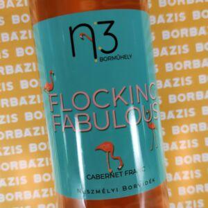 """n3 Borműhely Rosé """"Flocking Fabulous"""" 2020"""