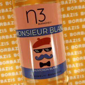 "n3 Borműhely Sauvignon Blanc ""Monsieur Blanc"" 2020"