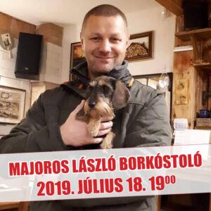 Majoros László prémium borkóstoló (Tokaj)