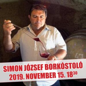 Simon József prémium borkóstoló (Eger)