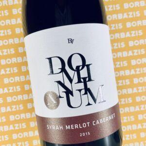 Dominium Syrah-Merlot-Cabernet Cuvée Autentica 2015