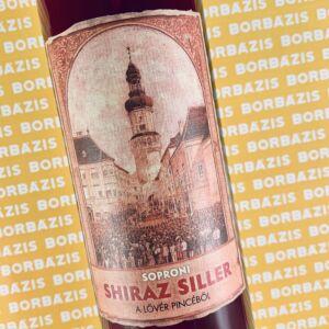 Lővér Pince Shiraz Siller 2020