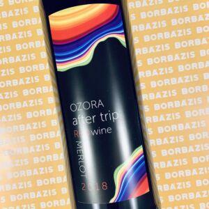 Ozora Wine After Trip Merlot 2018