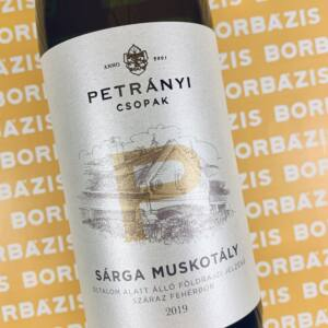 Petrányi Pince Sárgamuskotály 2019