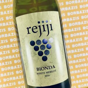 Rejiji Wines Bionda Merlot 2016