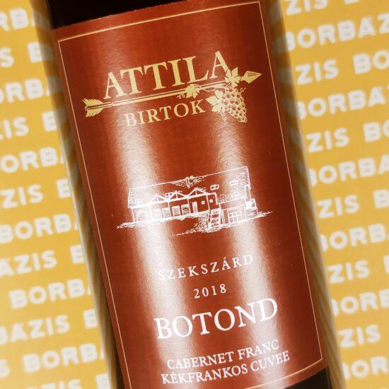 Attila Birtok Botond Vörös Cuvée 2018