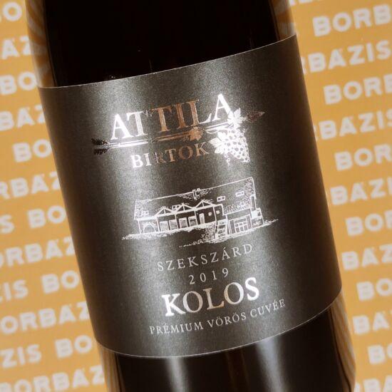 Attila Birtok Kolos Vörös Cuvée 2019