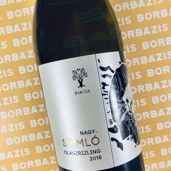 Barcza Bálint Somlói Olaszrizling 2018