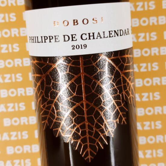 Dobosi Pincészet Philippe de Chalendar 2019
