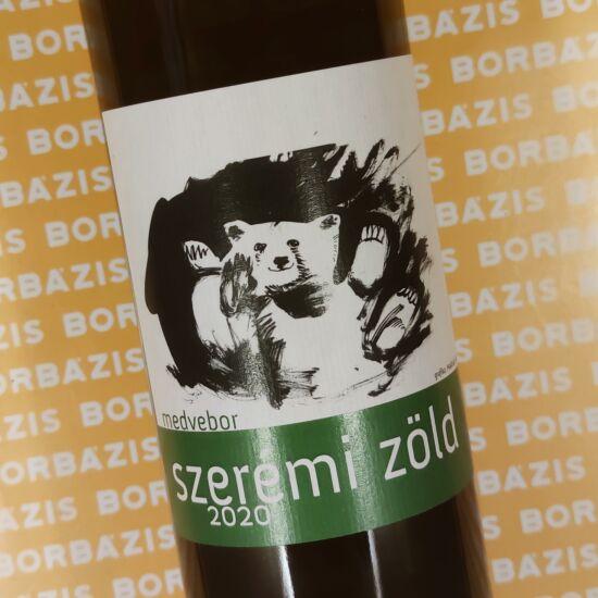 Medvebor Szerémi Zöld 2020