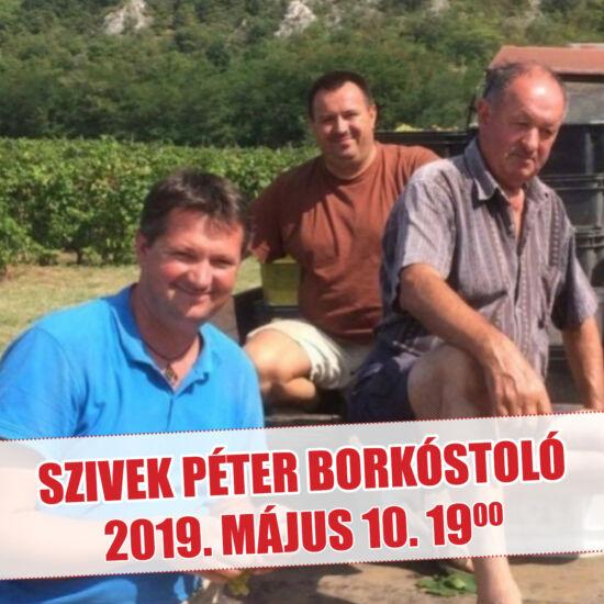 Szivek Péter borkóstoló (Kesztölc)