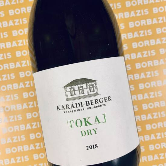 Karádi - Berger Borászat Tokaj Dry Cuvée 2018