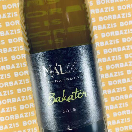 Málik Pince Bakator 2018