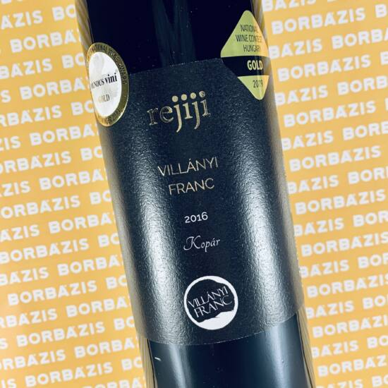 Rejiji Wines Kopár Villányi Franc Premium 2016