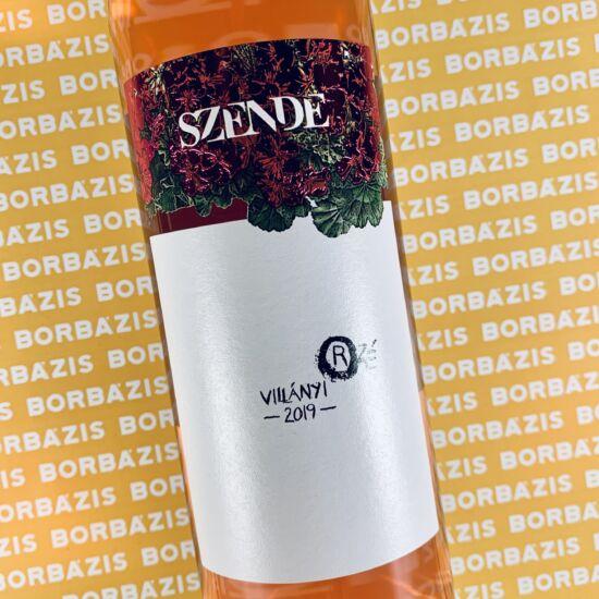 Szende Pince Villányi Rosé 2019
